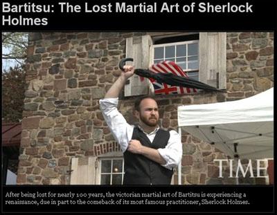 [Bartitsu: The Lost Martial Art of Sherlock Holmes]